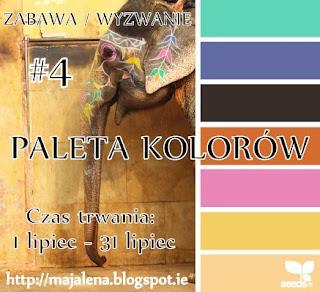 MOJE WYZWANIE - Paleta Kolorów #4