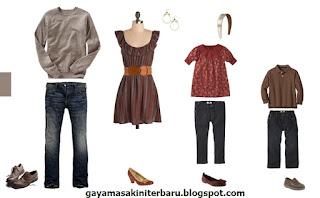 Baju lebaran terbaru gaya masa kini