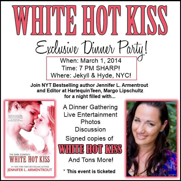 WHITE HOT KISS Dinner Party!