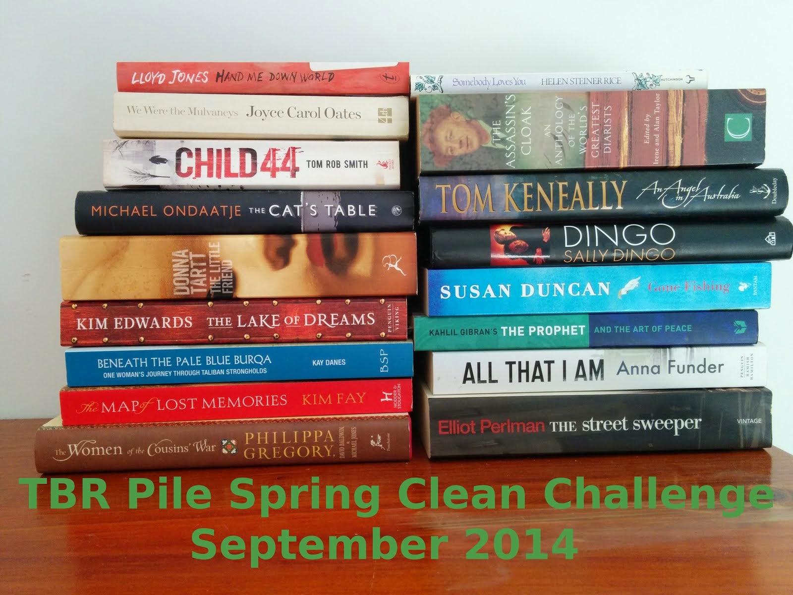 TBR Spring Clean Challenge