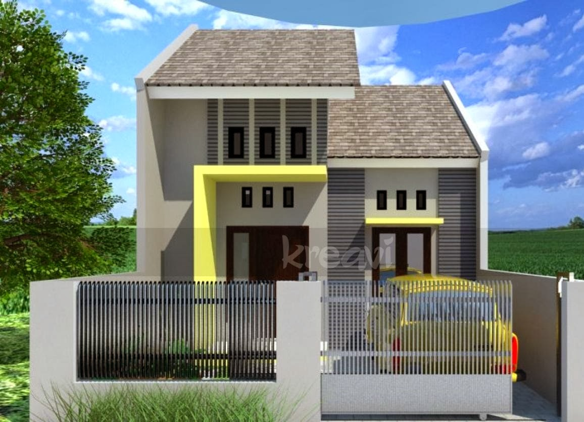 gambar desain rumah minimalis modern terbaru 2015