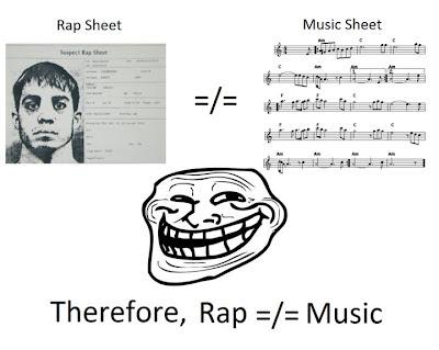 Rap is not Music?