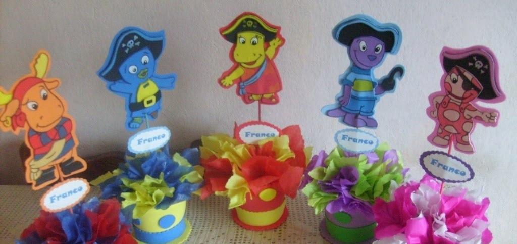 Decoraciones infantiles figuras en goma eva for Decoracion infantil goma eva