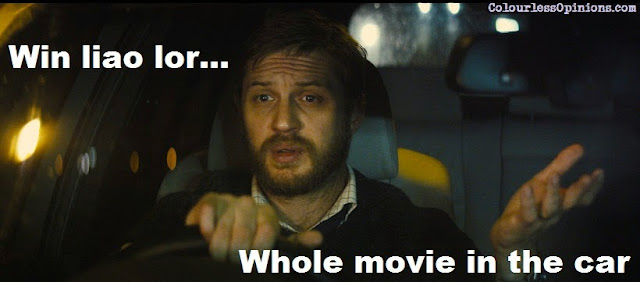 Locke movie still meme tom hardy driving in the car
