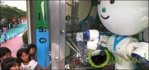 Robot Yaskawa-kun ( Penjual Es Krim )