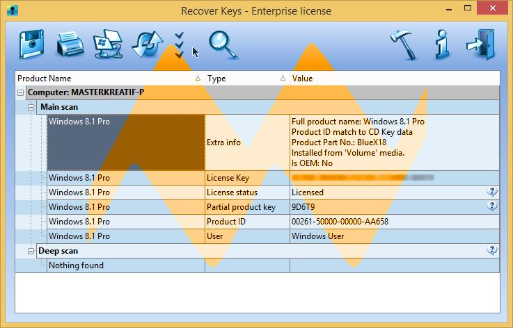 Recover Keys 8 Enterprise Full Crack