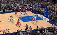 NBA 2K13 Dallas Mavericks Court Patch
