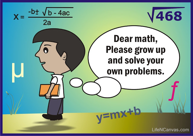 dear math, please grow up
