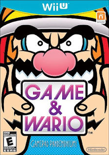 Box art of Game & Wario for the Wii U