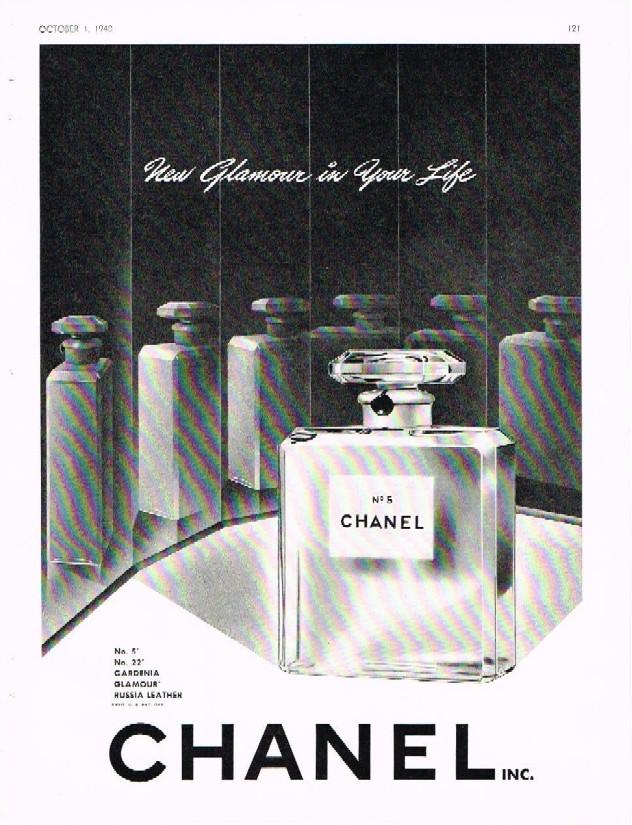 side street vintage vintage chanel ads