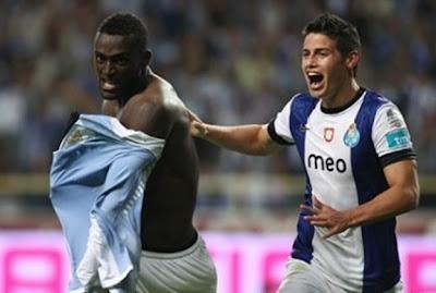 Acrobático gol de Jackson Martínez con el Porto