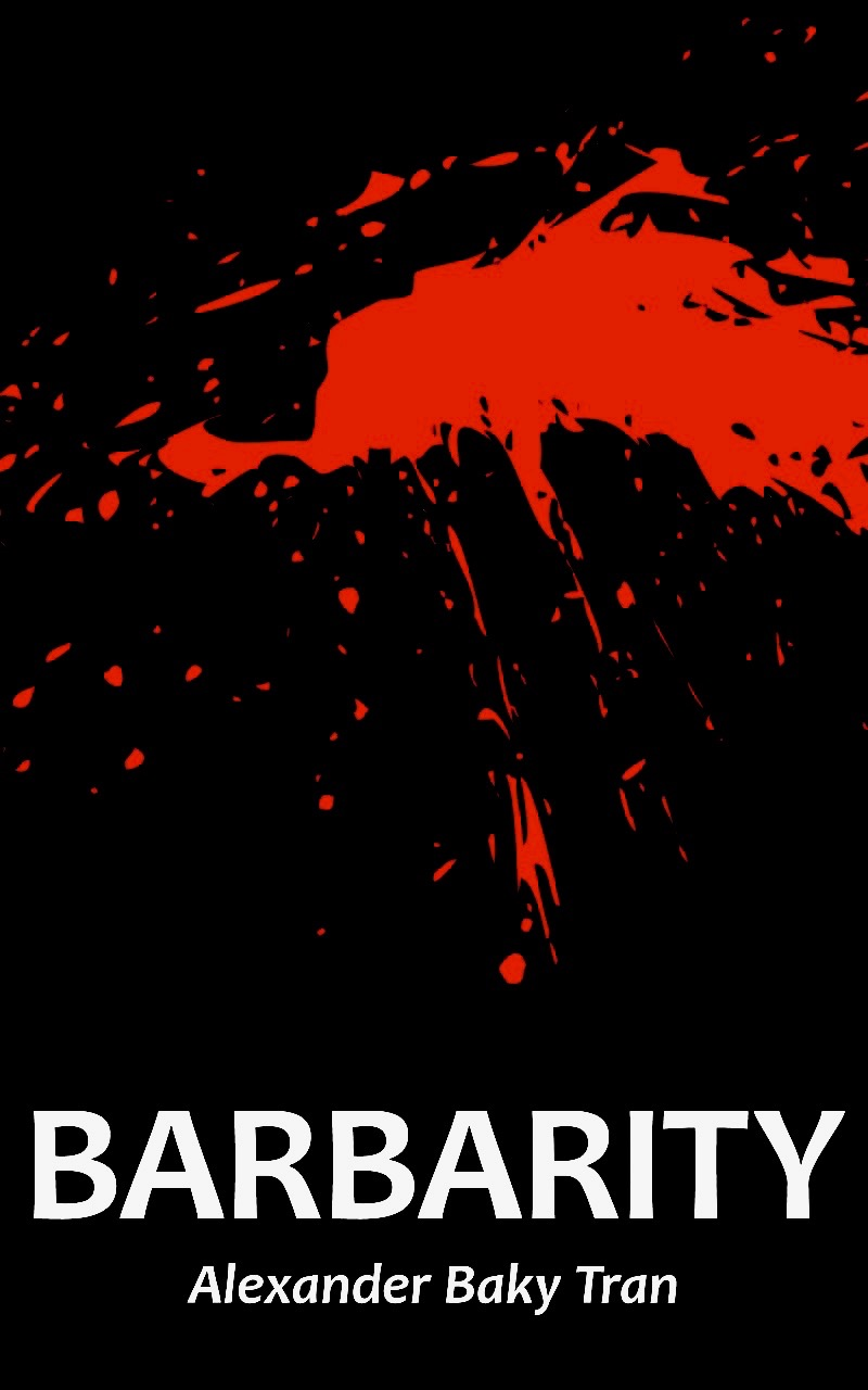 MY DEBUT COLLECTION OF POETRY, 'BARBARITY'!