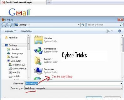 how to make a phishing site using notepad