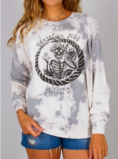 Tie Dye Grateful Dead sweatshirt