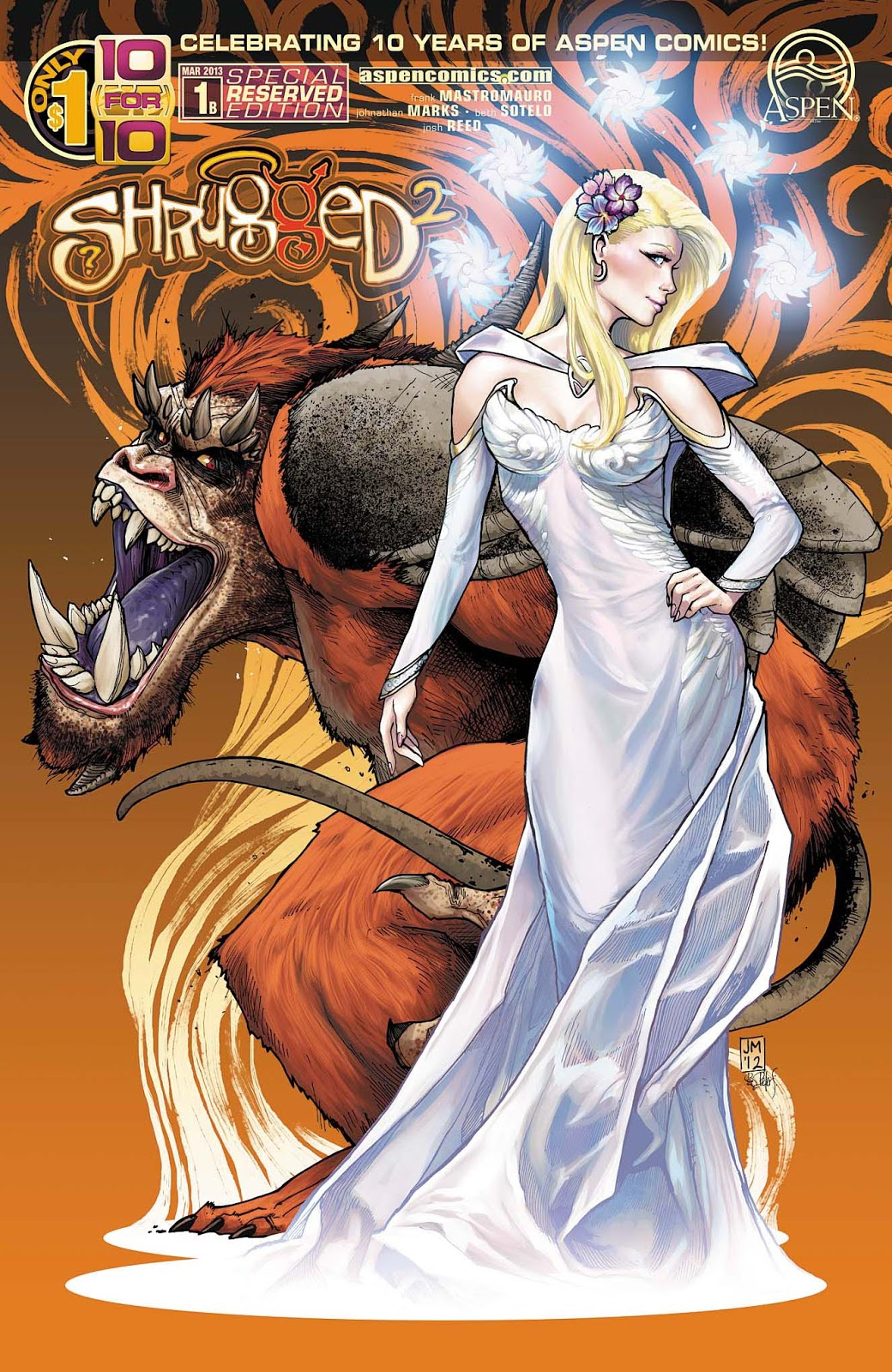 "Aspen Comics To Bring Back Classic Series Shrugged For ""10 for 10"""