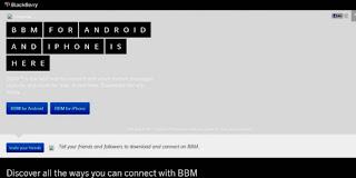 Situs Resmi Download BBM For Android dan iPhone terkuak?