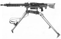 MG51 medium machine gun MMG