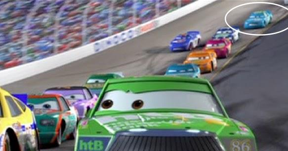 dan the pixar fan cars ernie gearson spare o mint. Black Bedroom Furniture Sets. Home Design Ideas