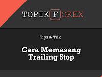 Cara Memasang Trailing Stop Yang Benar di Meta Trader