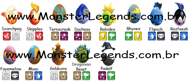Epic Eggs Monster Legends