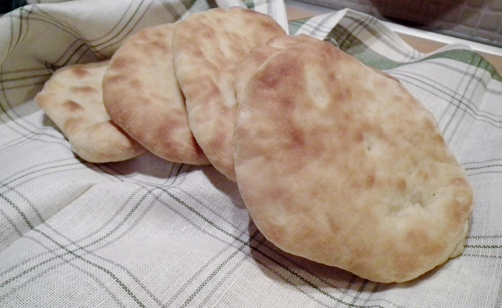 pane arabo senza grassi