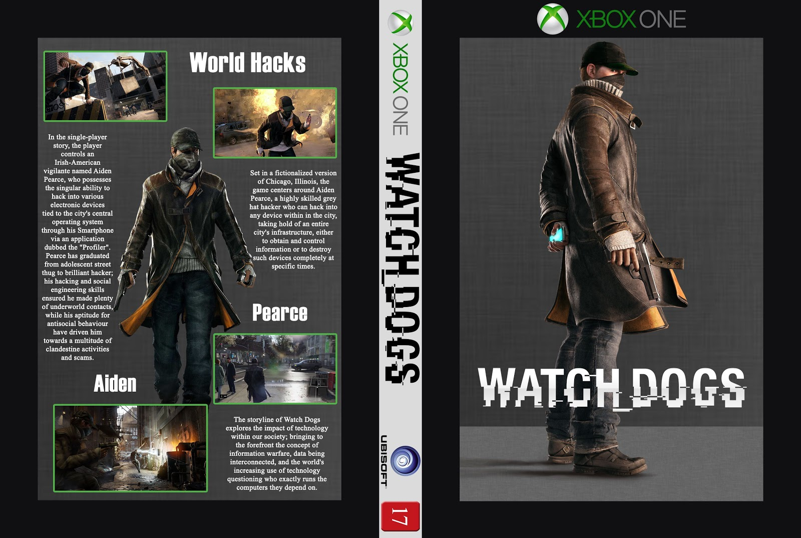 Capa Watch Dogs Xbox One