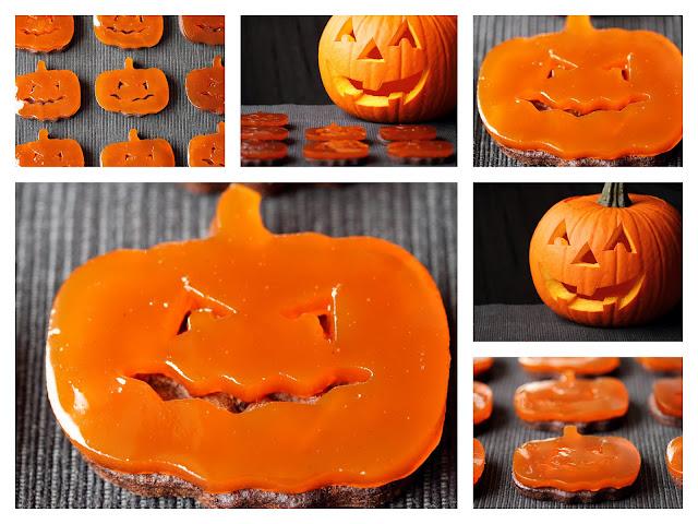 halloween recipes, halloween ricette, biscotti zucca per halloween