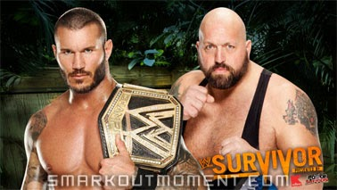 WWE Championship Survivor Series 2013 PPV Poster Big Show vs Randy Orton