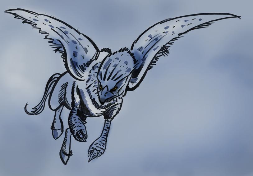 harry potter coloring pages buckbeak - photo#36