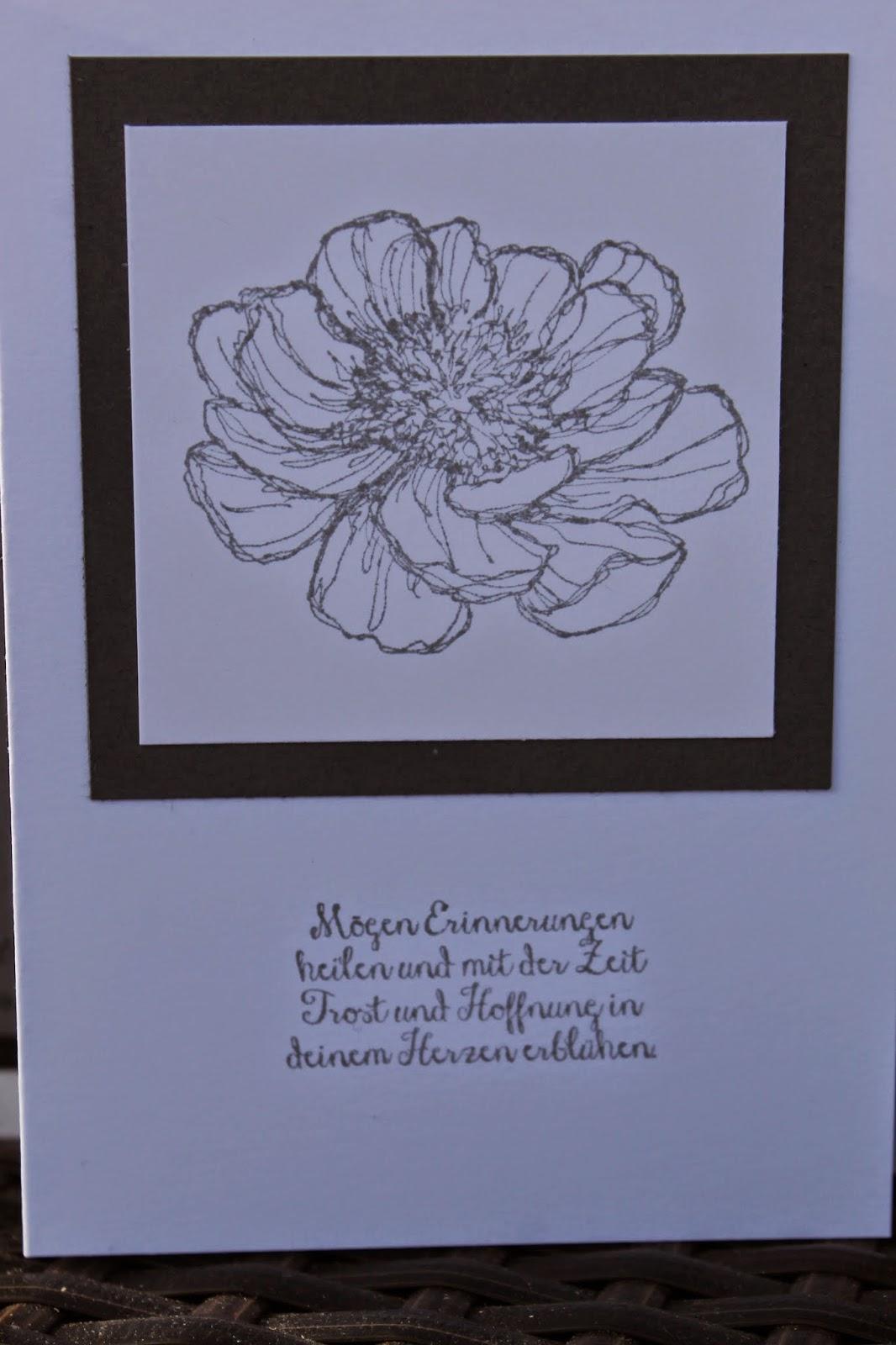 world of wishes 'n greets: trauerkarten