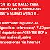 BCP Y NUEVAS COMISIONES (VENTAS DE HACKS SUSPENDIDAS HASTA NUEVO AVISO)