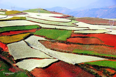 Amazing Red Land of China, Lexiaguo