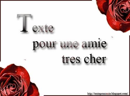Texte Pour Une Amie Textes Pour Une Amie Très Cher