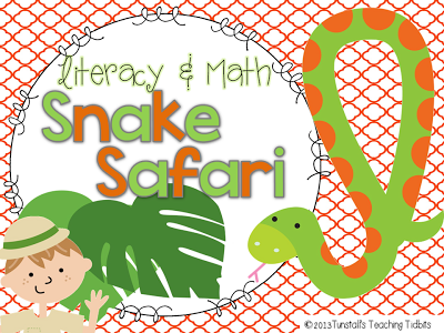 http://www.teacherspayteachers.com/Product/Snake-Safari-Math-and-Literacy-Centers-and-More-669147