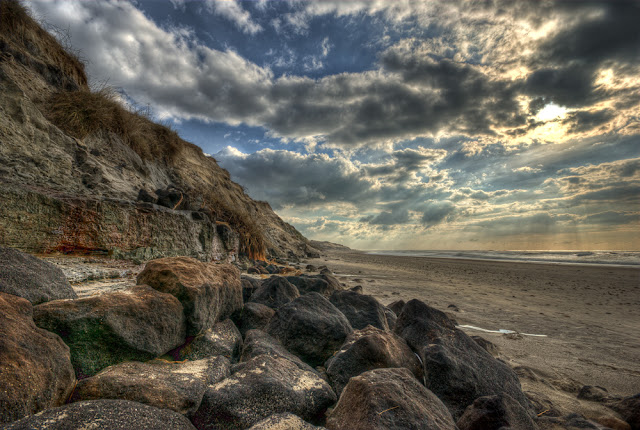 photo hdr paysage plage, photo plages gironde, médoc, aquitaine, photo coucher de soleil hdr, plage hdr, ocean hdr, photo fabien monteil