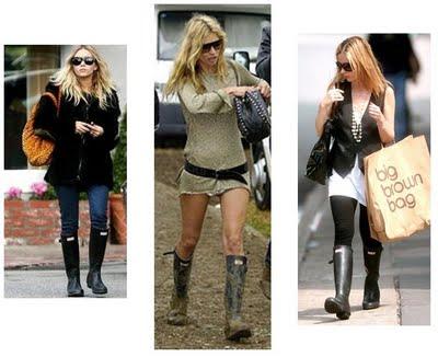 Rain Boots Hunter