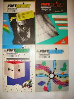 обложки 4-х выпусков журнала «SoftREVIEW/Компьютерное обозрение» 1993/1994 годы