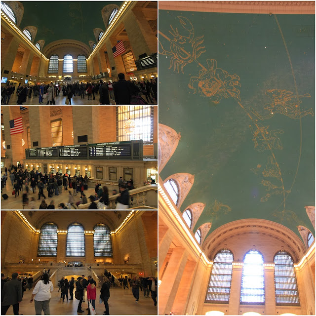 Inside Grand Central Terminal at New York Manhattan, USA