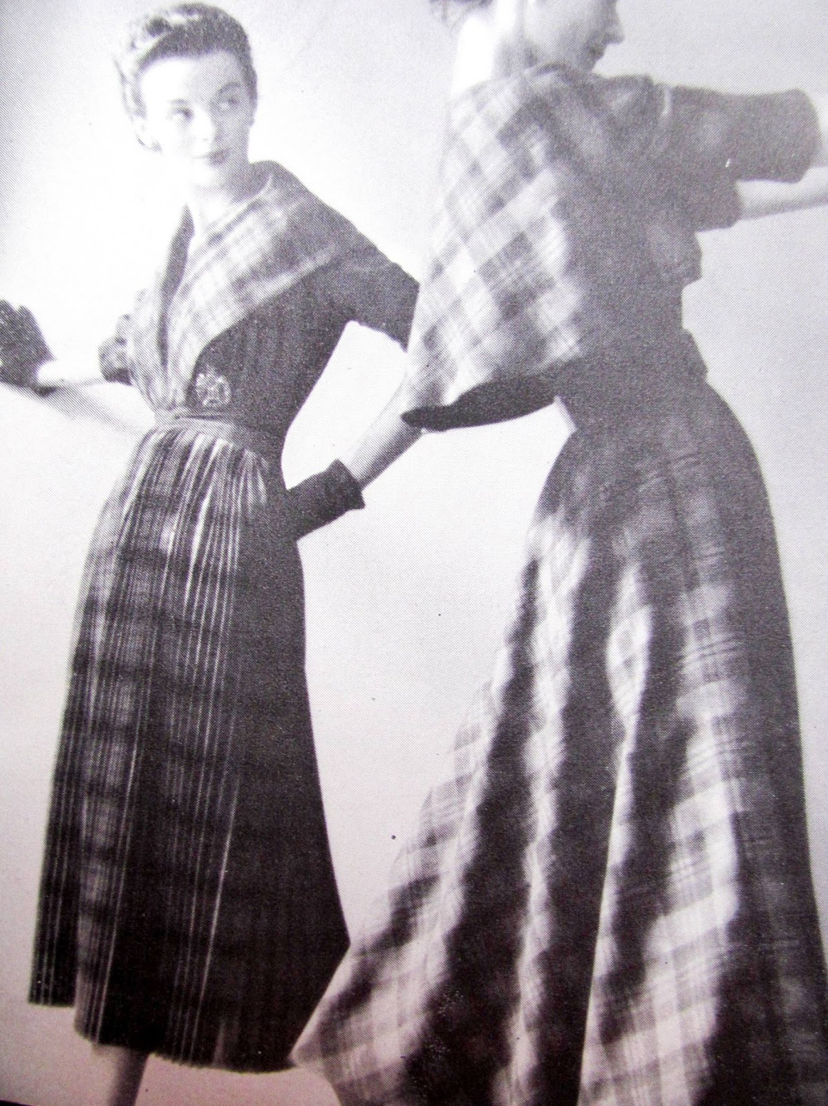 1949 Style And Fashion Pintucks Fall Fashion 1949 Claire