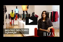 Video de mi entrevista para Harpers Bazaar