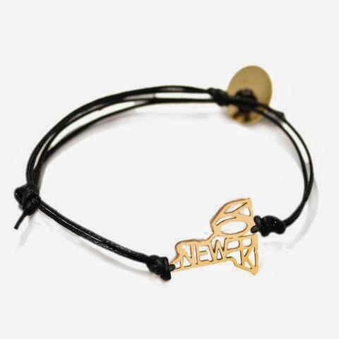 New York Cord Bracelet