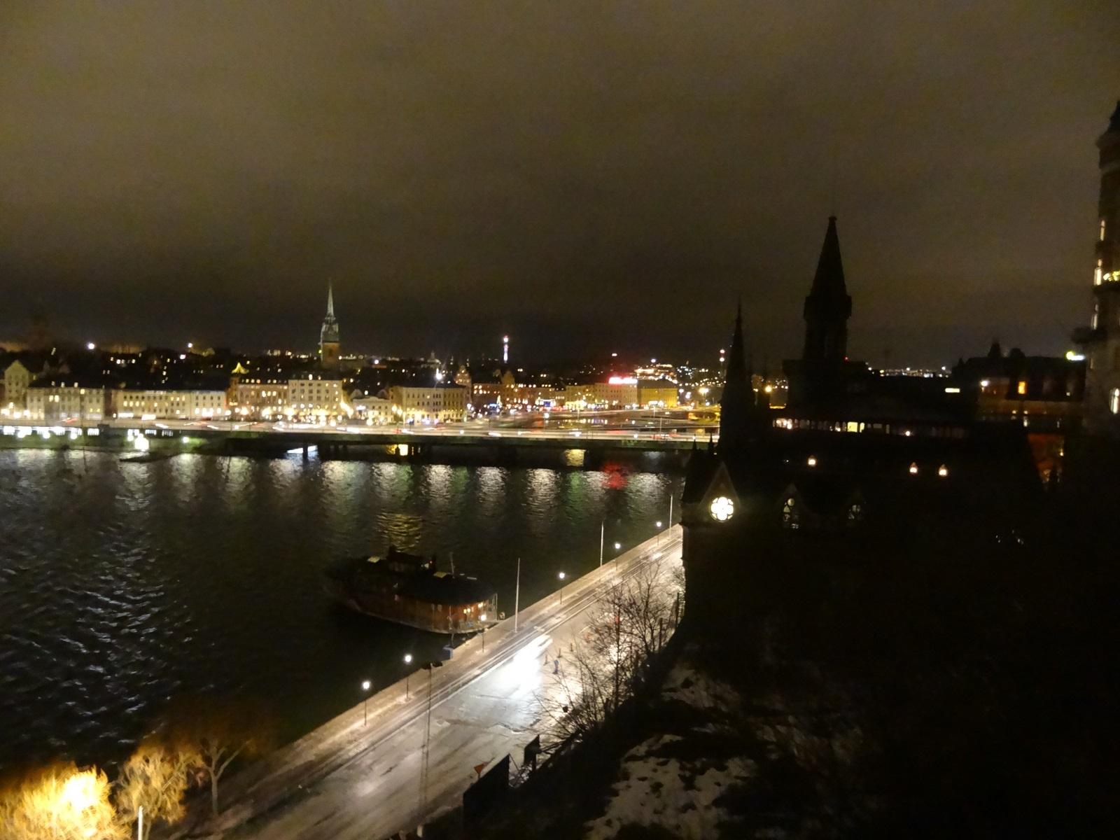 19 punkt widokowy Sztokholm Monteliusvägen
