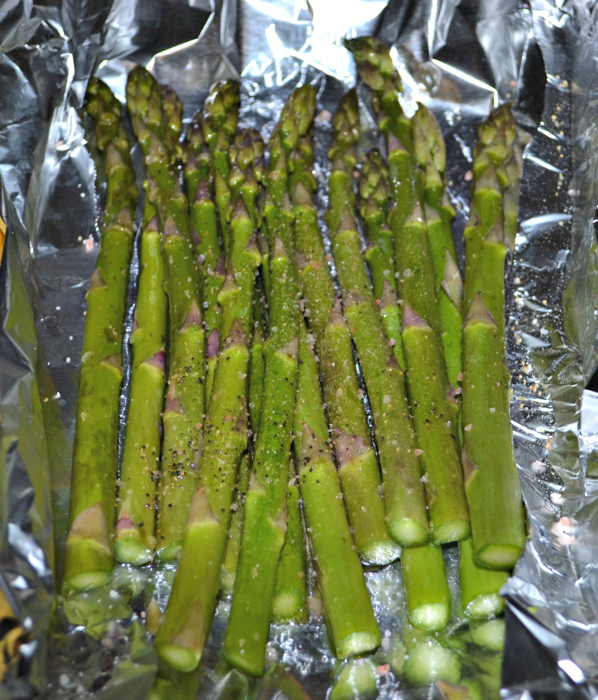 how to cook asparagus with bacon