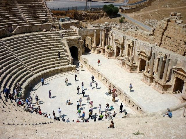 jerash, giordania, rovine romane