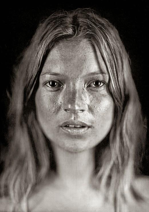 Chuck Close Daguerreotype Photography Kate Moss
