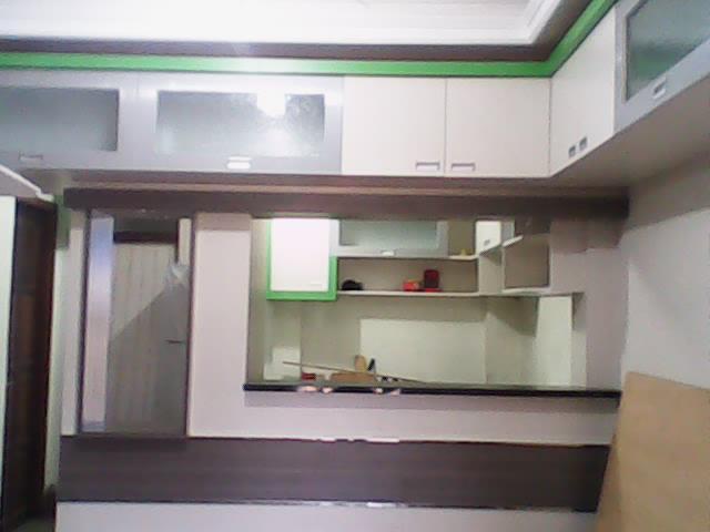 kitchen set lemari dapur gantung atas cabinet minimalis harga murah