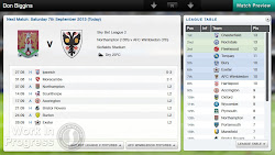 Football Manager 2014 Classic Vita Manager profile