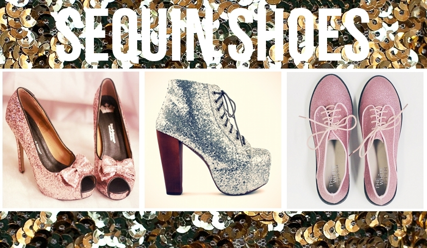 Sequin Heels, Boots, Brogues and Platforms