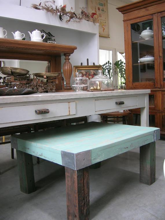 mesa niño verde 1 x 0,70