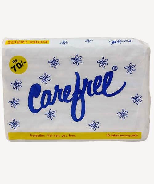 Carefree napkin